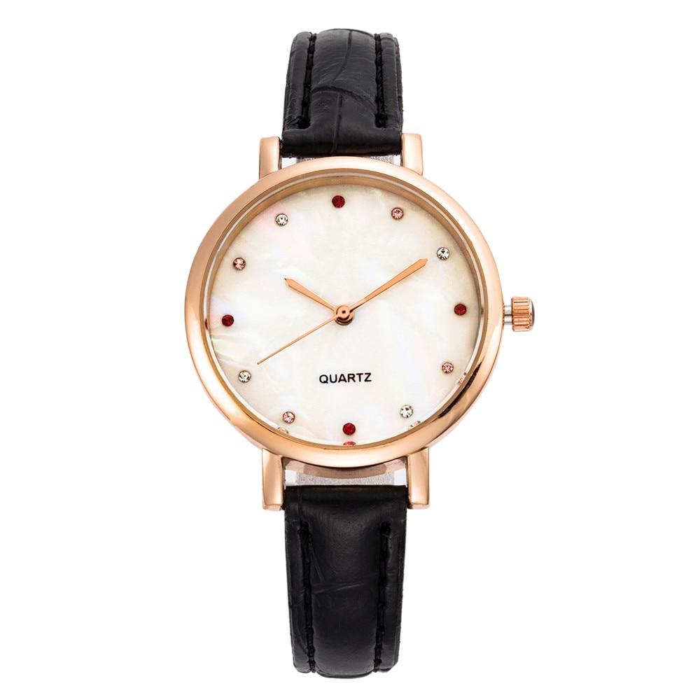 Women Watch Luxury Brand Casual Simple 899 Quartz Clock For Women Leather Strap Wrist Watch Reloj Mujer Drop Shipping