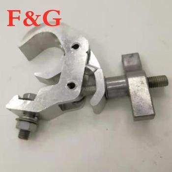F & Gluces de escenario de aluminio de gancho LED Par de...