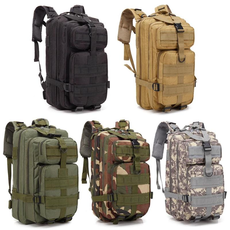 Outdoor Military Rucksacks 30L Outdoor Sports Waterproof Backpacks Large Capacity 3D Storage Rucksack Tactical Sports Camping Climbing Bags     - title=