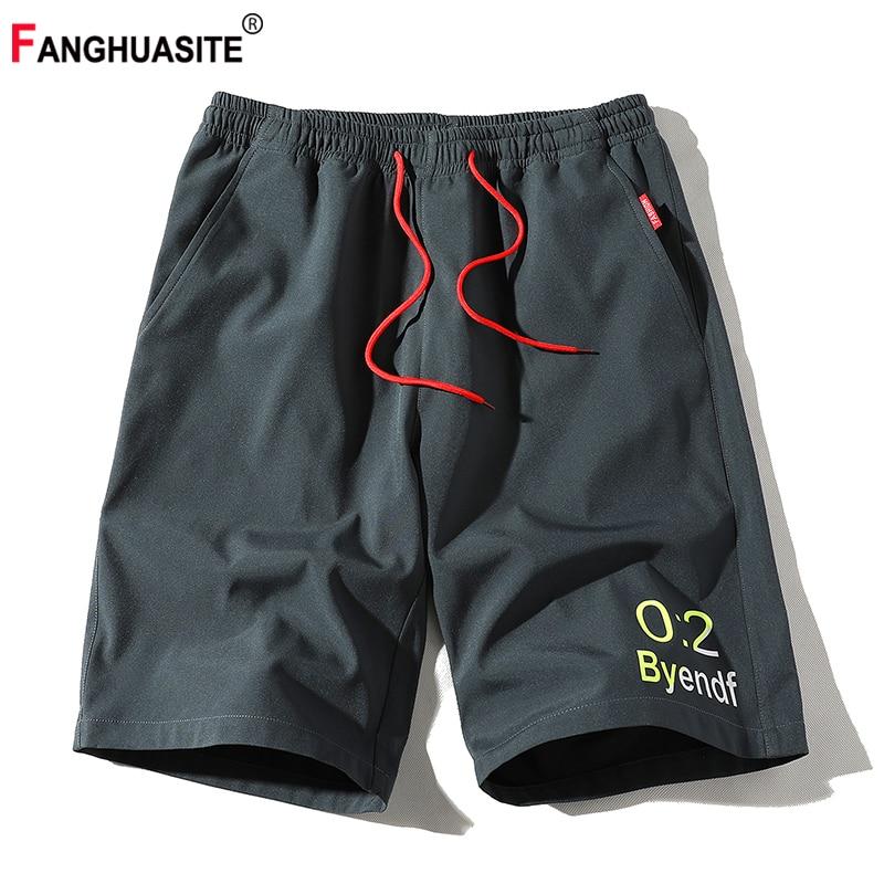 2020 Men's New Straight Casual Shorts Breathable Black Fashion Print Sweatpants Thin Summer Loose Comfortable Men's Shorts K526