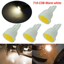 T10 COB Car LED Width Light Replacement Reverse Instrument Panel Tail Lamp Universal License Plate Bulb Car Accessories(China)
