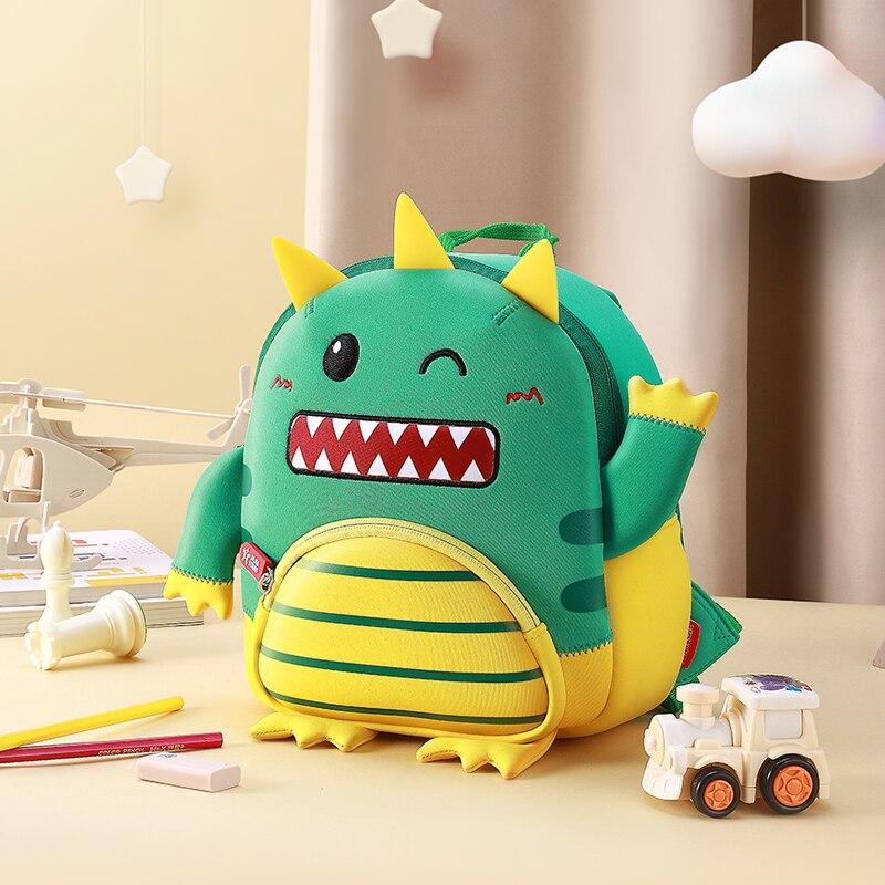 Toddler Kids Waterproof Pre School Backpack For Girl Boys 3D Cartoon Animal Children School Bag