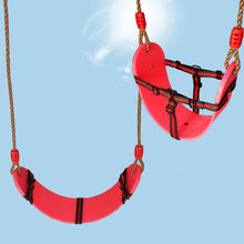 Swing Seat Heavy Duty EVA Hanging Secure Swing Seat For Kids Swing Set Heavy Duty Swing With PE Rope For Indoor Outdoor Yard cheap In-Stock Items zs90 Certificate 2012152203007351 2-4 Years 5-7 Years 8-11 Years 12-15 Years Grownups