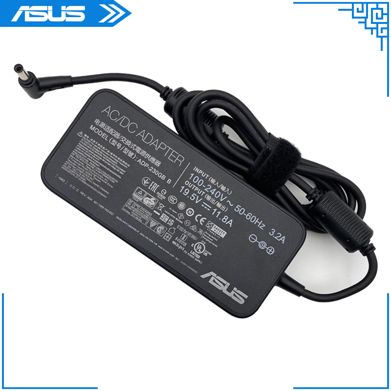 For Asus Laptop Adapter 19.5V 11.8A 230W 6.0*3.7mm ADP-230GB B AC Power Charger For ASUS ROG Strix G531GV-DB76 Laptop