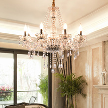 Chandelier-Light Glass-Pendant-Lamp Crystal Gold Living-Room Modern Bedroom E14 Honhill