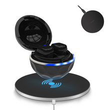 T3 Wireless Bluetooth Earphone Waterproof IPX7 earbuds charging Bluetooth5.0 with charge box for sport