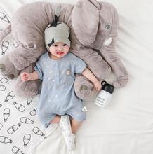 2020 nuevo bebé niñas niños puntos romper moda verano algodón mono de bebé 6-24 meses HV105