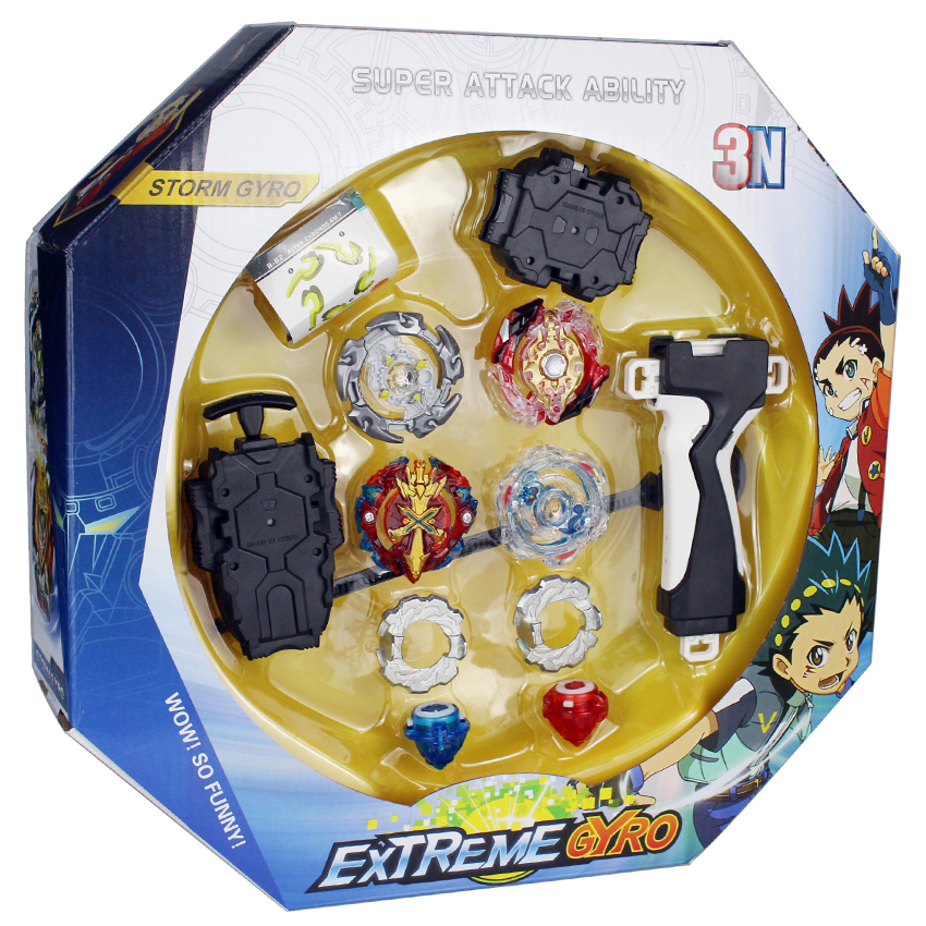 Original Box Beyblades Burst For Sale Metal Fusion 4D 3N180A With Launcher And Arena Spinning Top Set Kids Game Toys A