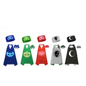 Image 4 - PJ Masks Anime Party Children Mask Cloak Cartoon Figure Birthday Gift For Boys And Girls Halloween Cosplay Apparel