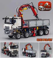 Nouveau modèle de camion MOC Arocs Fit Legoings Technic camion ville modèle blocs de construction briques Kid jouets bricolage cadeau anniversaire