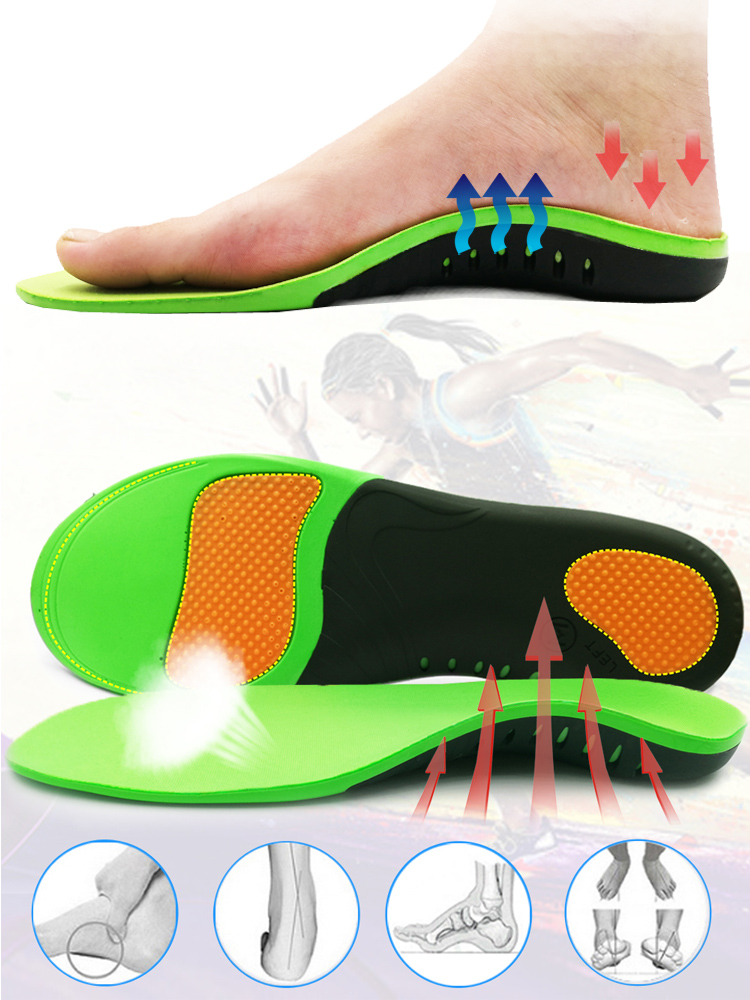 Best Orthopedic Shoes Sole Insoles For Shoes Arch Foot Pad X/O Type Leg Correction Flat