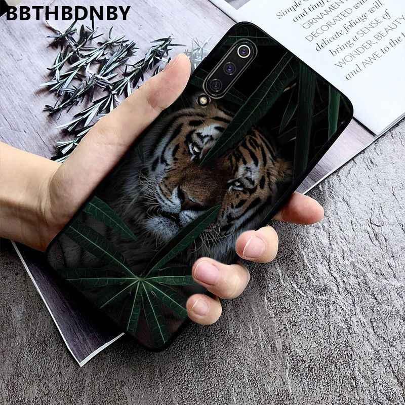 Telefon Fall Tiger TPU Weichen Silikon Telefon Fall Abdeckung für Xiaomi 8 9 se Redmi 6 6pro 6A 4X7 hinweis 5 7