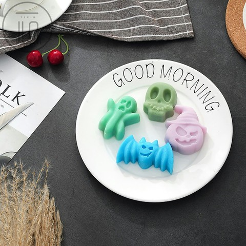 Dropshiping Halloween Silicone Cake Shape Mold Decorating Soap Baking Party Decor Food DIY Islamabad