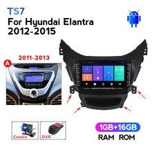 MEKEDE Radio de coche Android 8,1 para Hyundai Elantra Avante I35 2011-2016 reproductor Multimedia 2 din GPS Navigaion dvd estéreo unidad de cabeza