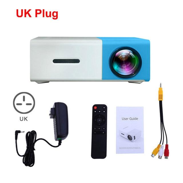 Blue  UK Plug
