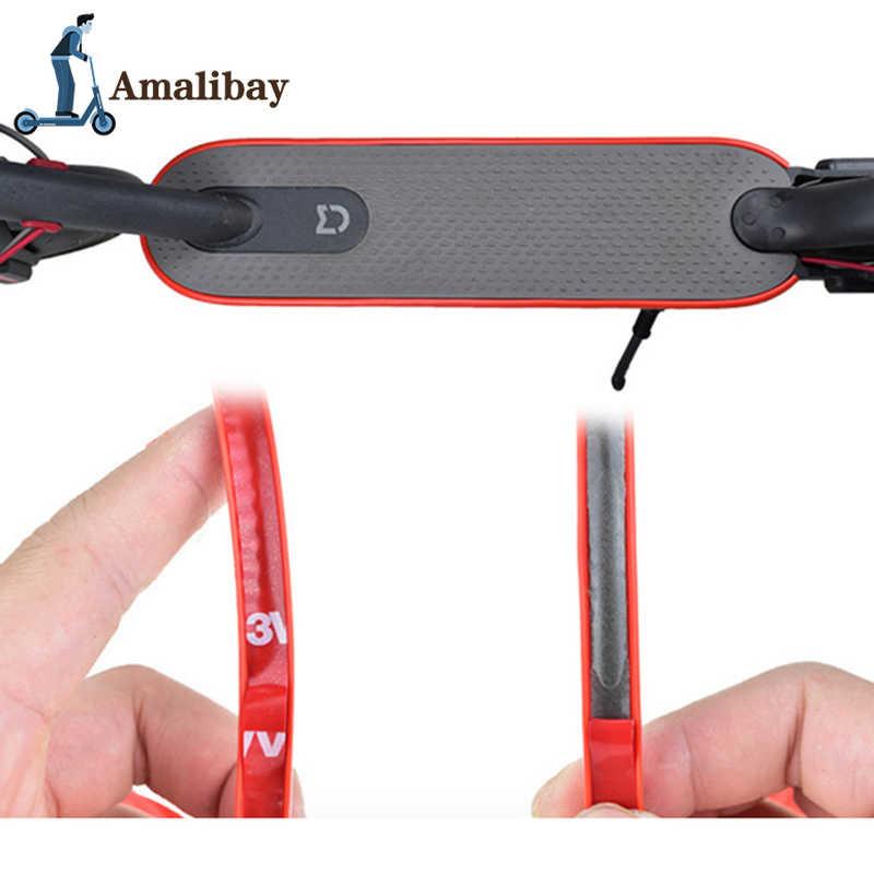 電動スクーター保護ストリップ Xiaomi M365 バンパーテープ Mijia M365 プロ装飾ストリップ衝突防止 M365 部品