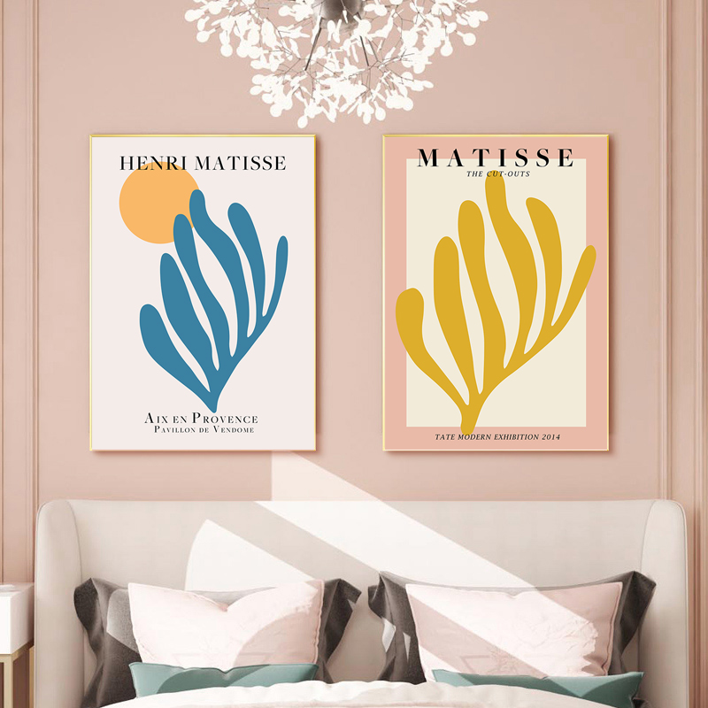 Matisse Flower Poster Abstract Tropical Plant Canvas Painting Wall Art Print Modern Picture For Living Room Home Decor