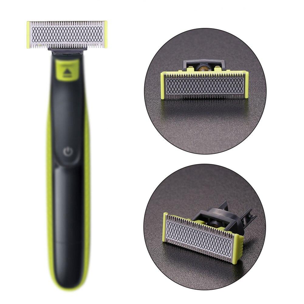 Бреющая головка для Philips OneBlade бритва QP210/QP50/QP2520/QP2523/QP2527 для бороды, из нержавеющей стали триммер аксессуары