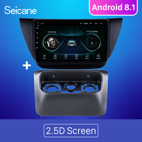 Seicane Android 8.1 9 inch 2Din Car Radio stereo GPS Navi Head Unit Player For Mitsubishi lancer ix 2006 2010 Including frame