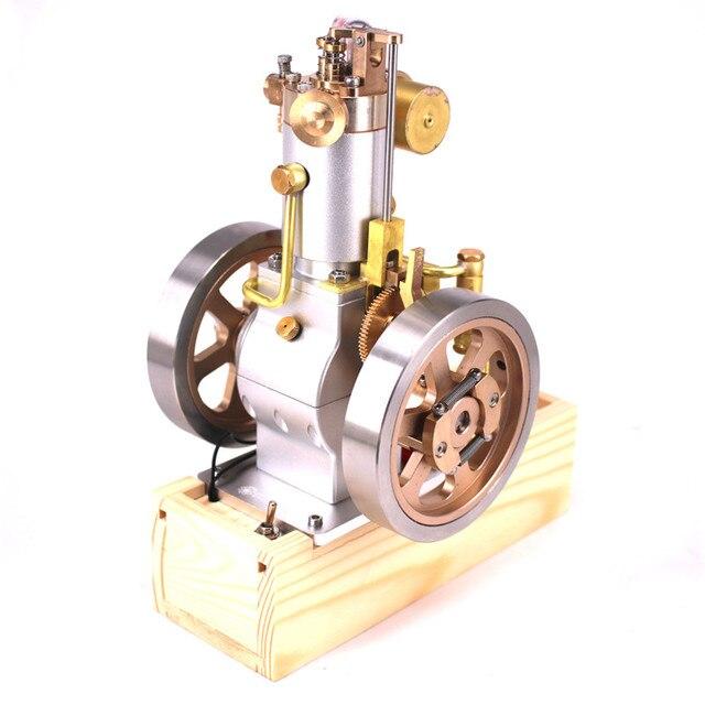 Eachine ETX Hit Miss Gas silnik pionowy Model silnika stirlinga ulepszony cykl chłodzenia wodą RC helikoptery kolekcja silników