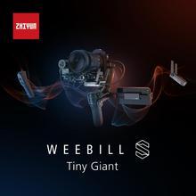 ZHIYUN Weebill S 3 ציר שידור תמונה Gimbal מייצב למצלמה ראי CANON NIKON SONY DSLR מצלמה
