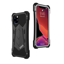 الألومنيوم الثقيلة الحالات الهاتف آيفون SE 2020 11 برو ماكس XR XS ماكس 6 6S 7 8 Plus X في الهواء الطلق للصدمات المعادن سيليكون غطاء الهاتف