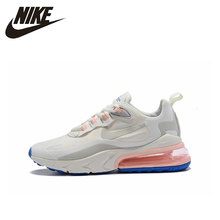 NIKE AIR MAX 270 React Women New Arrival Running Shoes  Non-slip Sports Light Sports Sneakers Original #AO4971 nike air max 270 react new arrival men running shoes air cushion outdoor sports sneakers men original ao4971