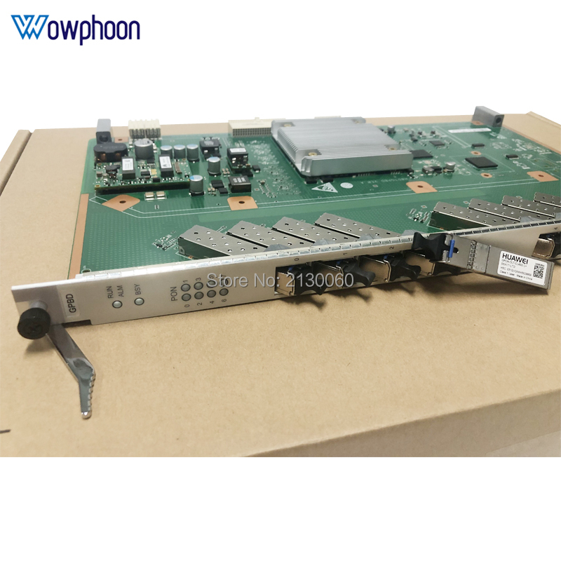 Huawei OLT GPBD GPON Board 8 ports with 8 SFP modules C+ for MA5680T MA5683T MA5608T,Terminal de linha optica