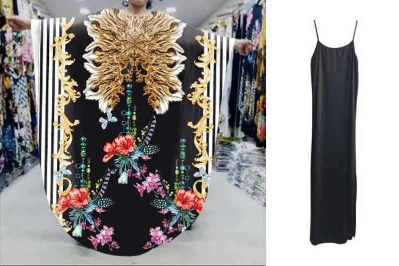 Châu Phi mới Váy Đầm cho Nữ Dashiki In Châu Phi Quần Áo Bazin Riche Gợi Cảm Mỏng Ren Nữ Tay Phi Đầm