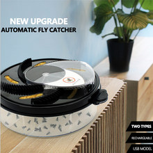 Flycatcher elétrico usb automático anti mosca armadilha com armadilha assassino da mosca uso do jardim doméstico armadilha de mosca elétrica