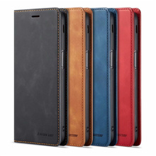 10Piece/lot For Samsung Galaxy j6 2018 Case FORWENW Magnetic Phone Cover Flip Leather Stand