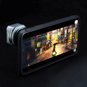 Image 4 - عدسة عالمية من Ulanzi غير متبلور لهاتف iPhone 12 Pro Max 11 X 1.33X شاشة فيديو عريضة واسعة من نوع Slr لتصوير الأفلام