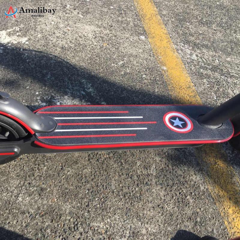 Elektrische Scooter Bumper Schutzhülle Körper Streifen Aufkleber Band für Xiaomi Mijia M365 Pro Skateboard Roller Teile Dekorative Streifen
