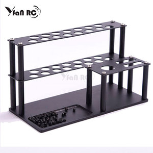 Image 2 - Maintenance tool base finishing screwdriver wrench storage rack for RC Trx4 scx10 Drone FPV Quadcopter Helicopter Model Repair