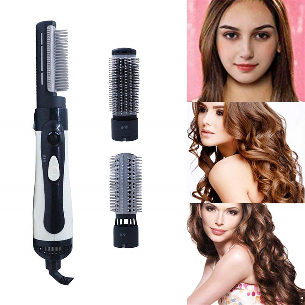 3-In-1 Professional Hair Straightener Brush Hair Dryer Smoothing Brush Hot Air Straightening Comb One Step Hair Dryer Blower
