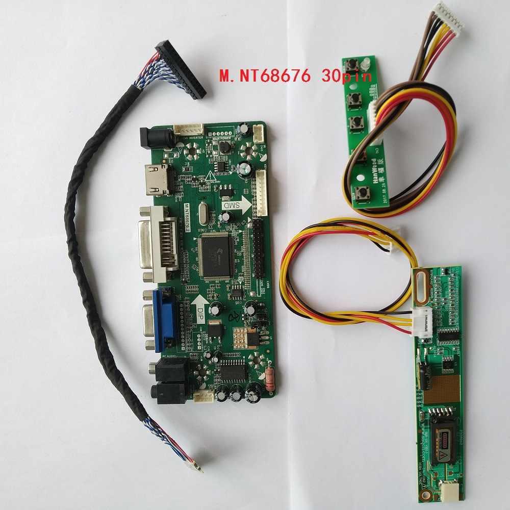 LCD LED screen Controller Board lvds Kit For LTN170BT08-G01 TV+HDMI+VGA+USB