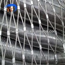 Проволочная сетка из нержавеющей стали для защиты лестничных мостов балюстрады и перил