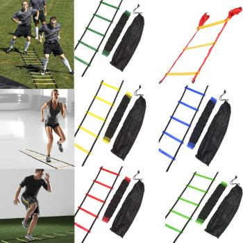 4/6/7/9/12/14 Rung Nylon Straps Agility Training Ladders Fitness Equipment 1