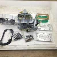 SherryBerg fajs-carburador + adaptador de ajuste de aire + adaptador de base para Suzuki Samurai carburador Weber, Kit de conversión de estrangulador Manual
