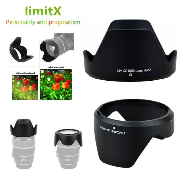 Cubierta de lente de flor Reversible para Fujifilm XC 16 50mm f/3,5 5,6 io II lente XT30 XT20 XT10 XA20 XA5 XA3 XA2 XA10 XM1 XA1
