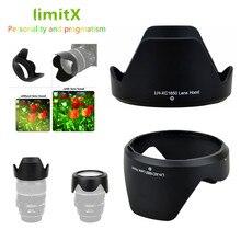 Geri dönüşümlü çiçek Lens Hood Fujifilm XC 16 50mm f/3.5 5.6 OIS II Lens XT30 XT20 XT10 XA20 XA5 XA3 XA2 XA10 XM1 XA1