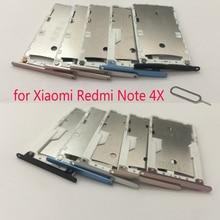 Tray-Adapter Redmi Note4x Card-Holder Housing Phone-Sim-Card XIAOMI Micro-Sd for Original