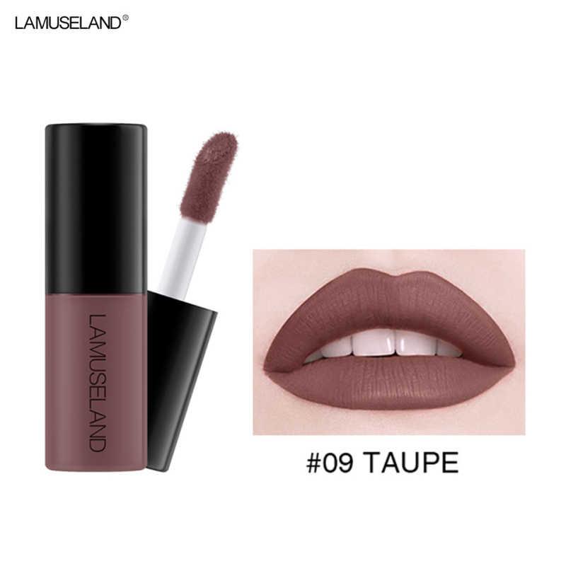12 Color Waterproof Lip Gloss Sample Matte Moisturizing Non-fading Liquid Lipstick Lasting Non-stick Cup Lip Glaze