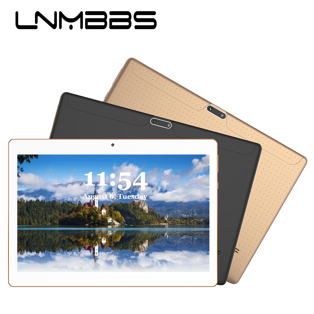 LNMBBS Pc Tablet 10.1 Inch K107 3G Phone Call Tablet Android 9.0 4GB+64GB Tablets WiFi GPS Bluetooth Octa Core Phablet Tablet Pc