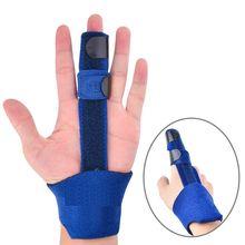 Регулируемый корректор пальца спусковой механизм для лечения