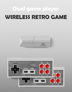 Y2 Pro Newest Retro Video Game Console Mini Wireless Console 8 Bit Built in 600 Classic Games AV Output Dual Gamepads