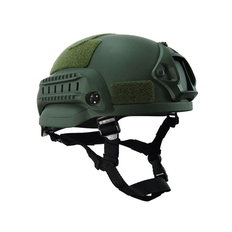 Военный Тактический Mich 2000 Шлем армейская Боевая головка протектор страйкбол Wargame светильник вес Пейнтбол поле снаряжение аксессуары