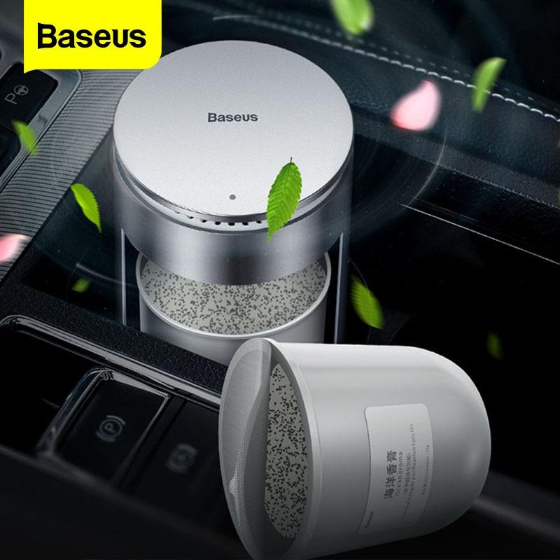 Baseus güçlü parfüm araba hava spreyi için yedek araba bardak tutucu aromaterapi otomatik arıtma Aroma YAYICI aksesuarı
