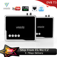 Vmade 2020 HD 1080P Terrestrial Receiver DVB T2 Decoder H.265 with RJ45 DVB T2 TV Tuner Support WIFI Youtube DVB T2 Set Top Box