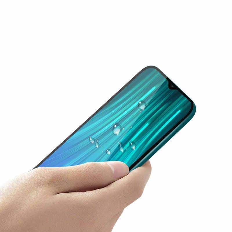 9D フル接着剤カバー強化ガラススクリーンプロテクター Xiaomi Redmi 注 8 プロ Note8 プロ Redmi 注 8 64 グラム 128 グラムガラスフィルム